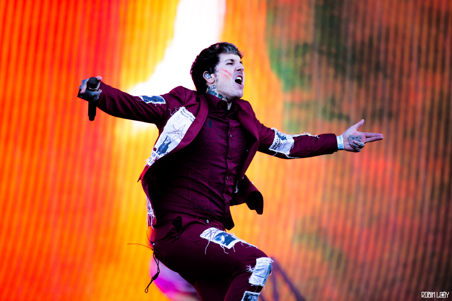 bring me the horizon live concert photo rock werchter photographer fotograaf robin looy