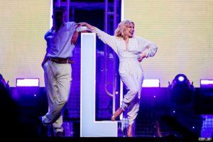 Kylie Minogue live concert photo rock werchter photographer fotograaf robin looy