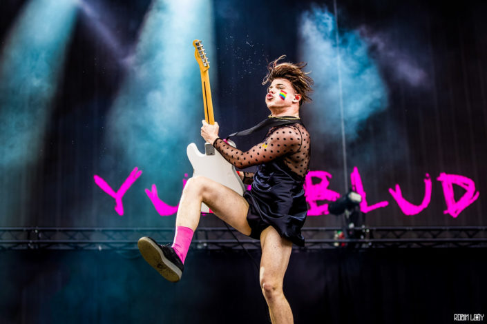 yungblud live concert photo rock werchter photographer fotograaf robin looy